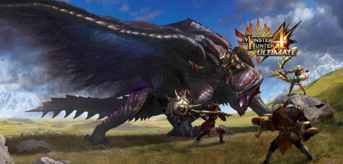Monster Hunter 4 Ultimate dépasse le million en Occident !