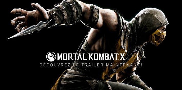 Mortal Kombat X découvrez le trailer de lancement ! _System of a Down
