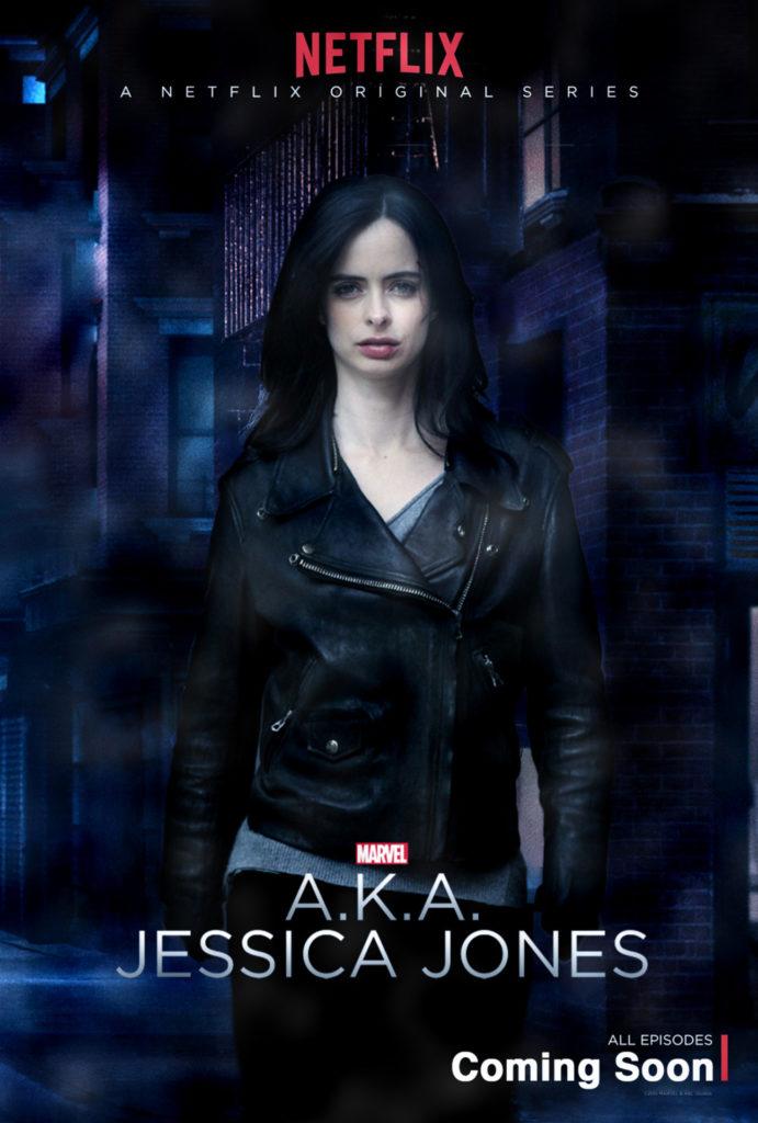 AKA Jessica Jones : 1ère affiche pour la série Marvel/Netflix