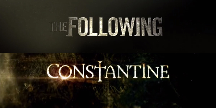 Constantine et The Following annulées !