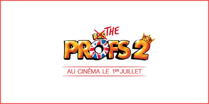 Cours d'anglais pour The Profs 2 et sa bande annonce !