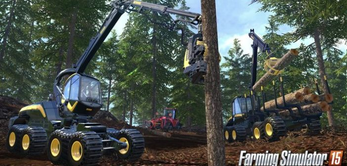 Farming Simulator 15 présente son parking de luxe