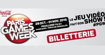 La billetterie online de la Paris Games Week est ouverte !