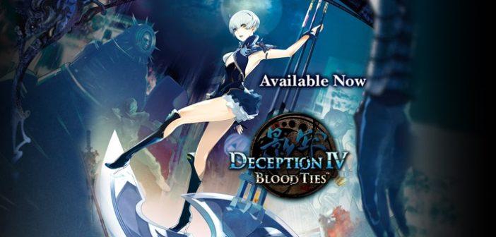 [Test]Deception IV : Blood Ties, ça fait du bien où ça fait mal !