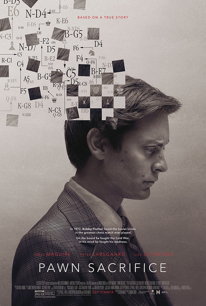 Un trailer et une affiche pour Pawn Sacrifice.