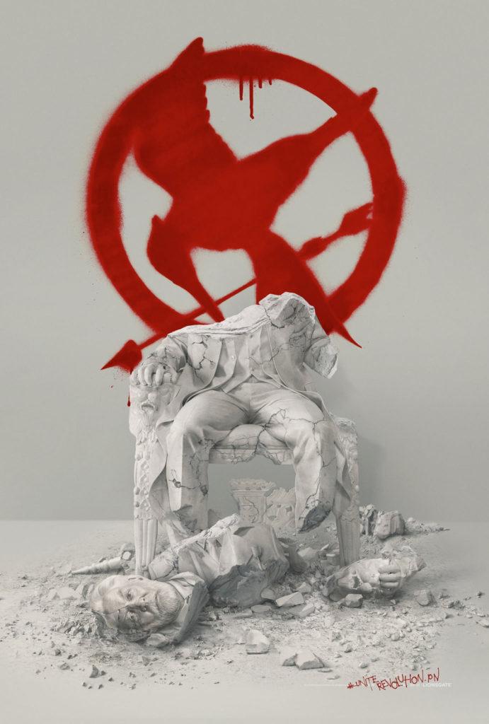 Hunger Games : l'affiche de la chute du président Snow