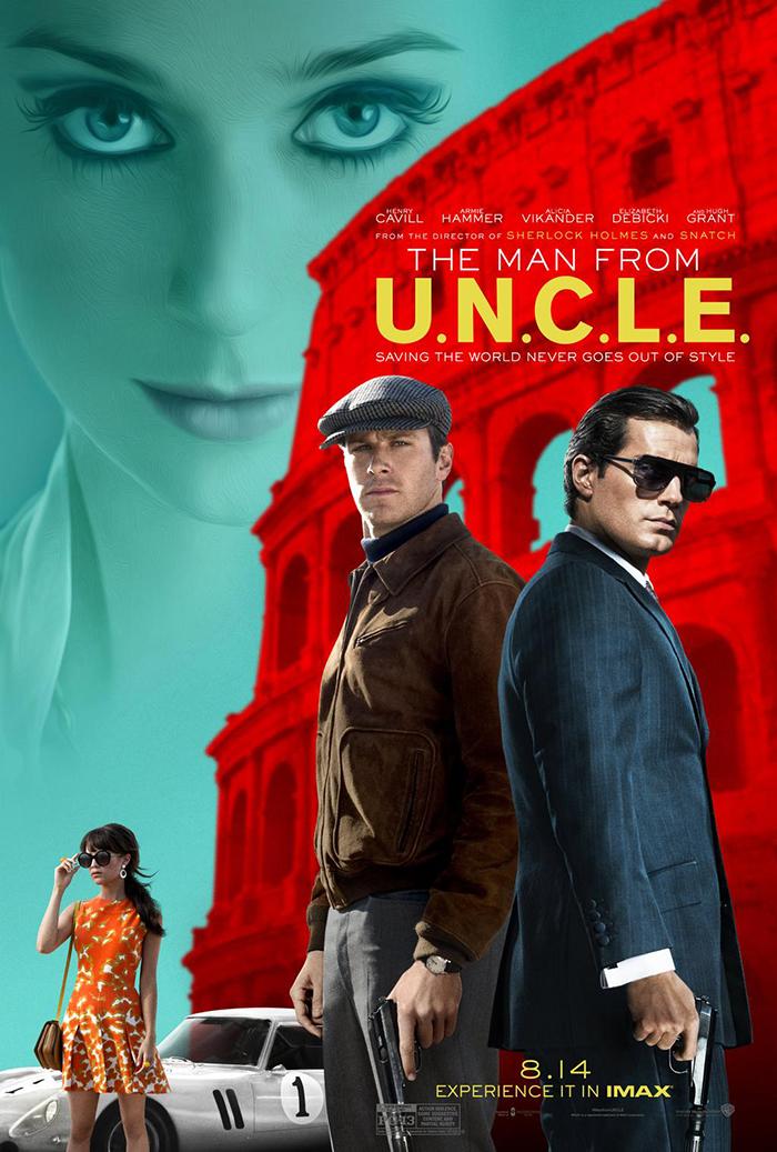 2e trailer et affiche pour Agents très Spéciaux – Code U.N.CL.E
