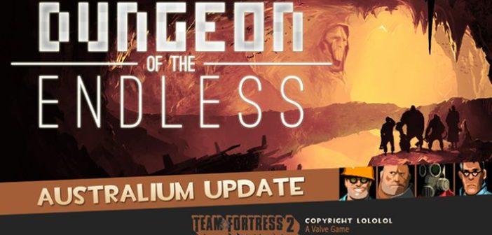 Australium : du Team Fortress 2 dans Dungeon of the Endless !