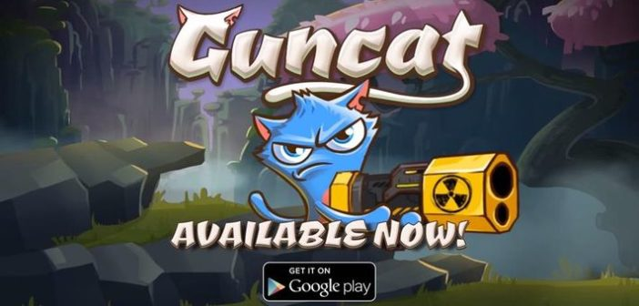 Guncat : attention grumpy cat !