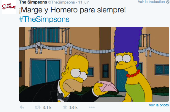 Homer et Marge ne divorcent plus