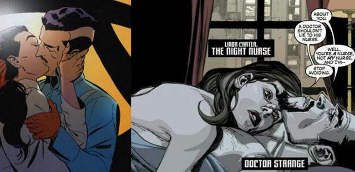 Night Nurse dans Dr Strange... et un visage pour l'incarner !