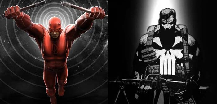 Des photos de Daredevil et des influences pour The Punisher !