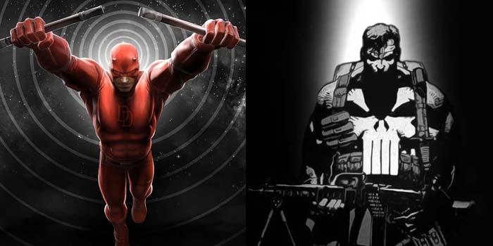 Des photos de Daredevil et des influences pour The Punisher !