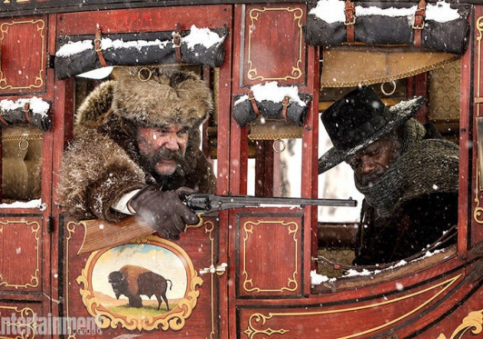 Une nouvelle photo pour The Hateful Eight !