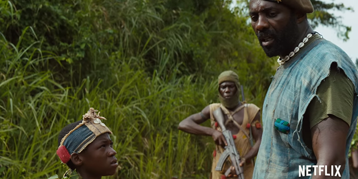 Premier teaser de Beasts of No Nation de Cary Fukunaga !