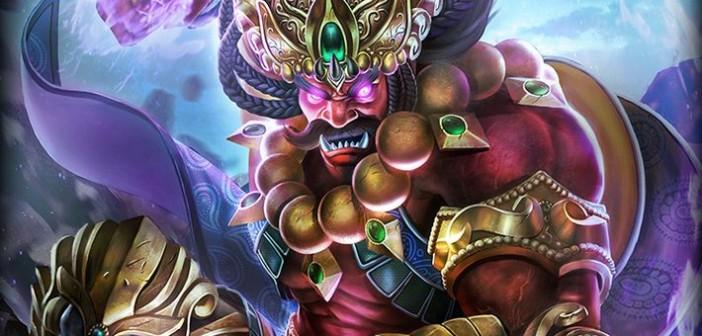 Ravana, le Roi démon de Lanka se fait maître de l'arène