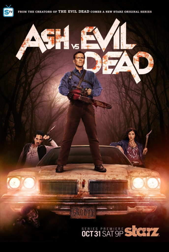 Ash vs Evil Dead et son affiche rock 'n' roll !
