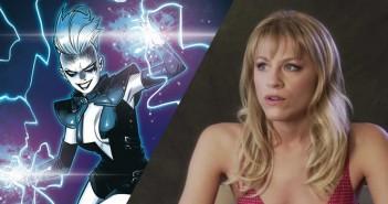 Brit Morgan sera Livewire face à Supergirl !