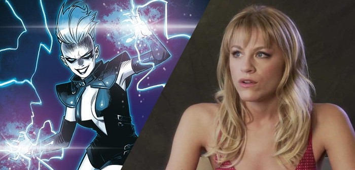 Brit Morgan sera Livewire face à Supergirl !