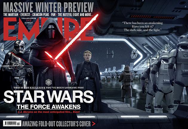 Star Wars VII en couverture d'Empire