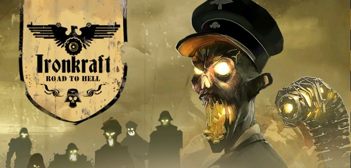 Faites de la purée de zombies avec Ironkraft - Road to Hell !
