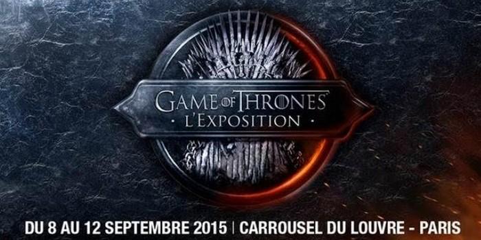 Exposition Game of Thrones : pas besoin de réserver le 8 septembre