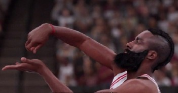 James Harden à l'honneur dans le second court de NBA 2K16 !