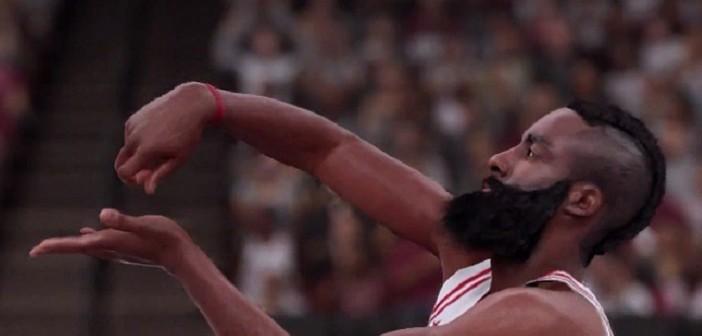 James Harden à l'honneur dans le second court de NBA 2K16 !