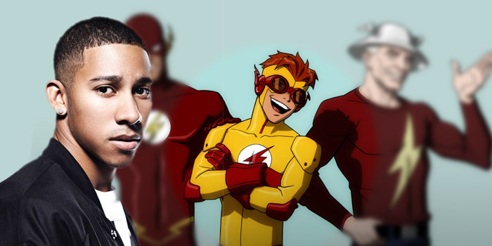 Keiynan Lonsdale sera Wally West alias Kid Flash !