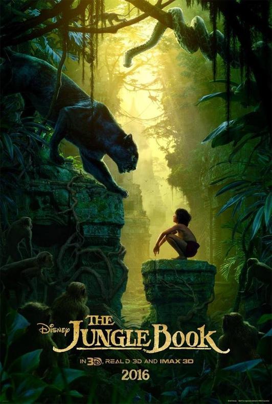 Une nouvelle affiche pour le Livre de la Jungle