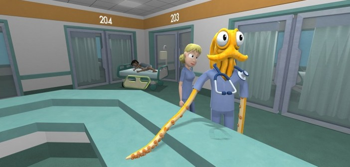 Octodad : Dadliest Catch étant ses tentacules à la Xbox One