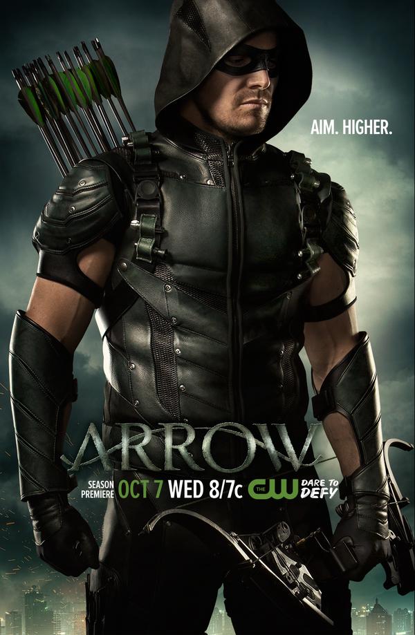 Arrow : un nouveau poster qui « vise plus haut » !