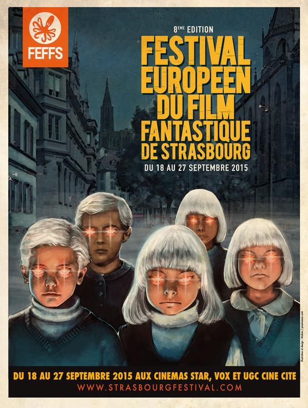 La 8e édition du Festival Européen du Film Fantastique de Strasbourg ouvre ses portes !