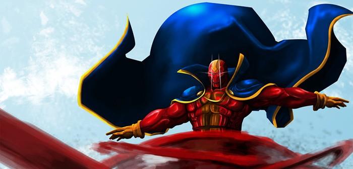 Dr T.O. Morrow aka Red Tornado rejoint Supergirl !