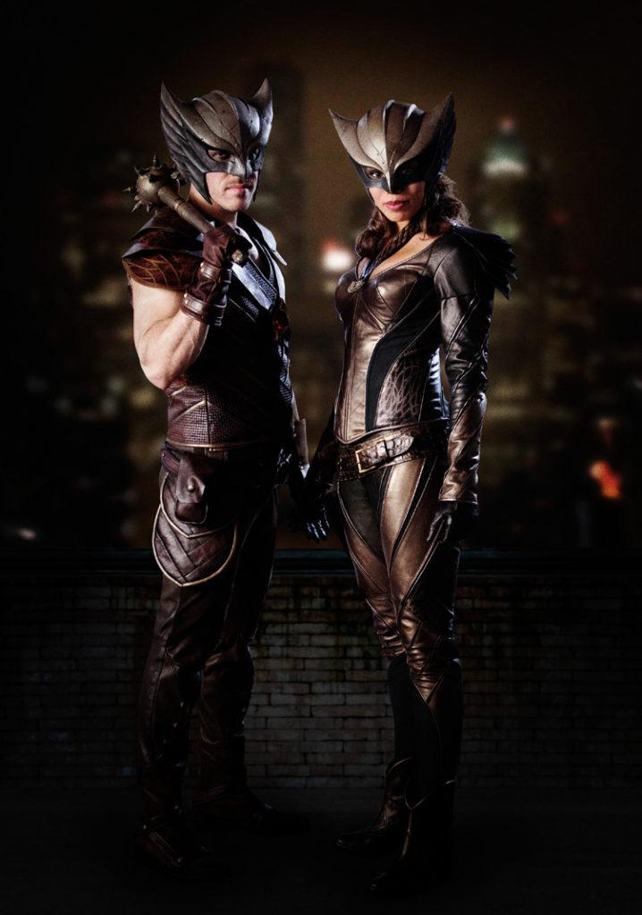 Hawkman et Hawkgirl s'affichent en costume !