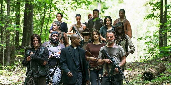 Un habitué des séries devient un Walking Dead !