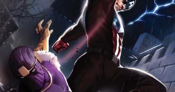 Baron Zemo tête nue dans Captain America : Civil War!