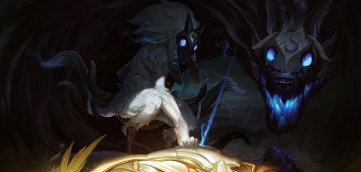 Kindred le nouveau jungle de LoL pour demain !