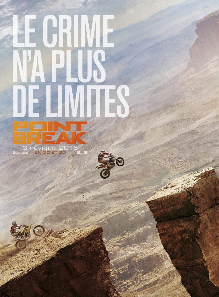 Point Break se dévoile en une déclinaison d'affiches !