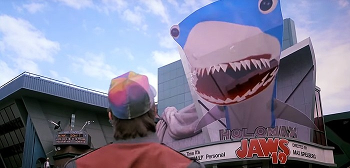 Un trailer de Jaws 19 pour Marty McFly !