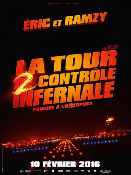 Une affiche et un méchant pour La Tour 2 Contrôle Infernale !
