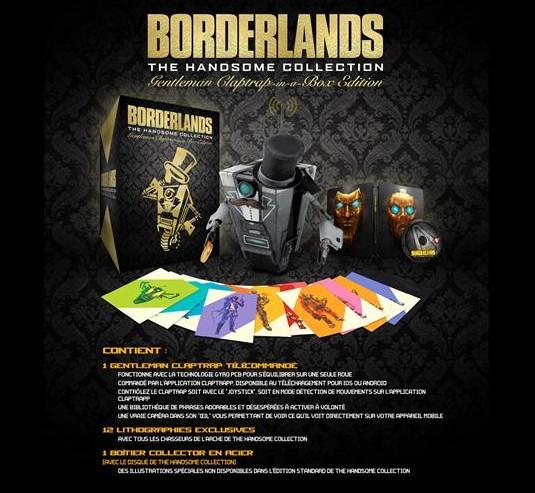 Borderlands: The Handsome Collection, Sir Clap Trap en boîte !