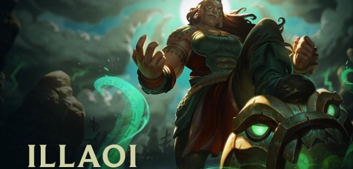 League of Legends : voici venue la tentaculaire Illaoi !