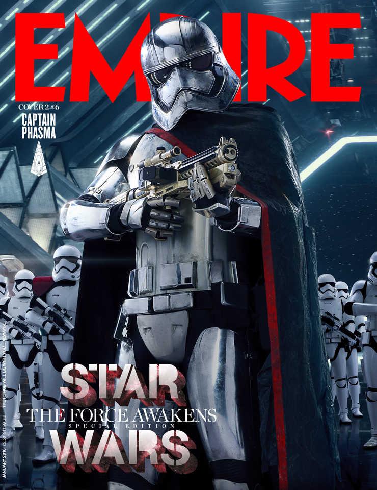 les personnages de star wars font les unes dempire