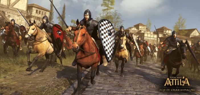 Total War : ATTILA plonge dans l'Âge de Charlemagne