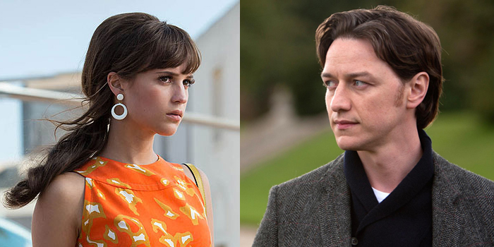 Alicia Vikander rejoint James McAvoy dans Submergence !