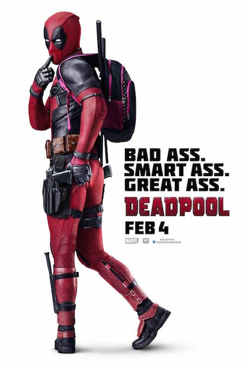 Deadpool aguichant sur le poster pansexuel !