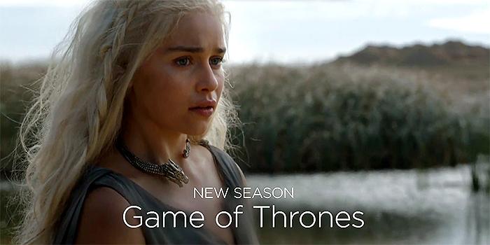 Des images de GoT dans le mashup 2015 d'HBO !