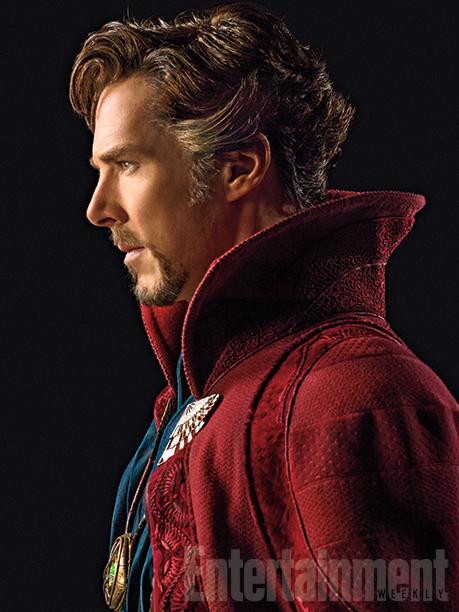Doctor Strange : Cumberbatch fait la Une, en costume !