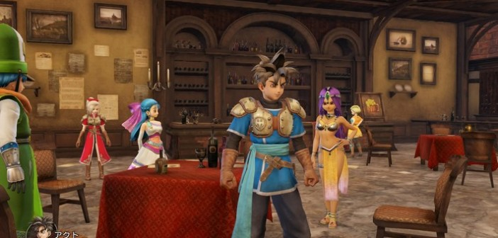[Test] Dragon Quest Heroes, un beat'em all original et complet !